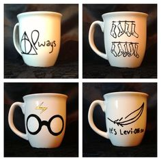 Harry+Potter+inspired+coffee+mug+set+by+KynasKreations+on+Etsy,+$25.00