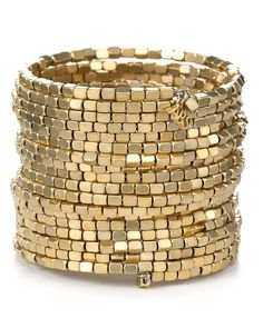 ABS by Allen Schwartz Drama Coil Bracelet - Bracelets - Jewelry - Jewelry & Accessories - Bloomingdale's Memory Wire Jewelry, Memory Wire Bracelets, Jewelry Bracelets, Bangles, Beaded Jewelry, Handmade Jewelry, Gold Jewelry, Bead Jewellery, Beaded Necklaces