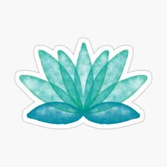 Watercolor lotus flower pattern for yoga and more evoking calmness • Millions of unique designs by independent artists. Find your thing. Watercolor Lotus, Transparent Stickers, Flower Patterns, Deco, Marble, Stationery, Graphic Design, Art Prints, Lotus Flower