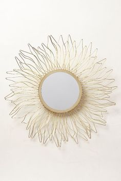 queen anne's lace mirror #anthrofave