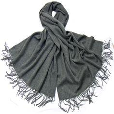 Etole gris foncé en laine - Etole/Etole laine - Mes Echarpes