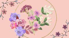 Vintage Flowers 💐 Desktop Wallpaper