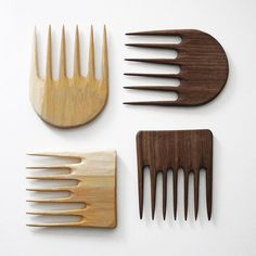 CAINNON HAND-CARVED WOODEN COMB