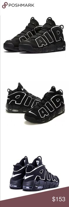 adf66f45e1a77 Nike Air More Uptempo OG Scottie Pippen Black Whit Brand new in box.  CL