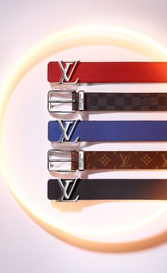 Make a subtle statement with a Louis Vuitton belt at the Holiday party. Coming in a wide variety of colors and leather materials, Louis Vuitton belts are a great way to add some spice to your look.
