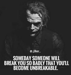 New Quotes About Strength Grief Smile 21 Ideas Dark Quotes, New Quotes, Wise Quotes, Attitude Quotes, Quotes To Live By, Funny Quotes, Inspirational Quotes, Motivational, Heath Ledger Joker Quotes