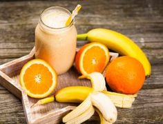 This homemade Orange Julius recipe is one of our favorite summertime recipes! This cool refreshing shake tastes just like the old fashioned Orange Julius. Homemade Orange Julius Recipe, Banana Milk, Vanilla Protein Powder, Orange Recipes, Protein Shakes, Wake Up, Summertime, Snacks, Fruit