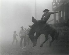 Skeeter Humble in Dust Storm | Chandler, AZ 1946 | by Louise Serpa