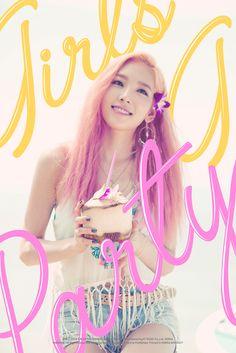 Girls generation 2015 comeback: Party Teaser photos:Taeyeon