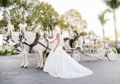 Her carriage is ready. #Bride #Weddingdress #Weddingphotography