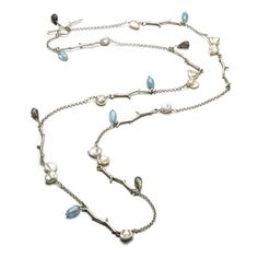 #jewelry#Eles Designs#Long twig necklace