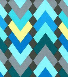 Keepsake Calico Fabric Chevron Jewel