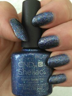 Shellac Starry Saphire