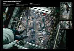 Swiss Skydive Elevator
