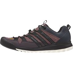 Adidas Outdoor Terrex Solo Approach Shoe - Women'sMineral Red/Black/Raw Pink