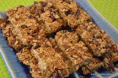 Homemade granola bars are an easy and tasty lunchbox treat. This nut free granola bar recipe is made with lots of love and no refined sugar, because your little