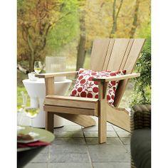 Vista Adirondack Chair I Crate and Barrel