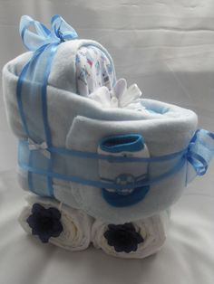 BABY SHOWER~Pram Nappy Cake