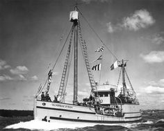 For 20 years the St. Roch served as the travelling detachment vessel for the RCMP and was one of the first ships to make it through the extremely dangerous Northwest Passage.