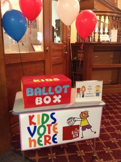 """Kids out of school? Bring them to the library to """"help"""" you vote for the library budget! And while they are here, they can vote for their favorite book!"""