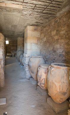 Palace of Knossos, Crete, Greece  Ancient Minoan Civilization
