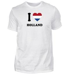 i love home land geschenk HOLLAND