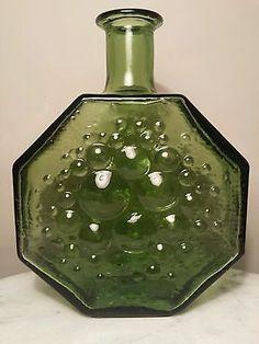Scandinavian Riihimaki / Riihimaen Stella Polaris Art glass Vase Nanny Still