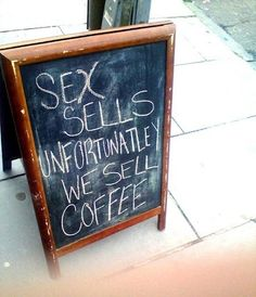 Clever little coffee shop.