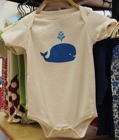 Mimosa whale onsie