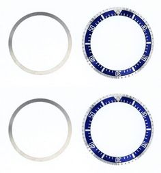 Bezels and Inserts 57714: Bezel And Insert For Rolex Submariner Military 5517/1680 Blue -> BUY IT NOW ONLY: $79.9 on eBay!