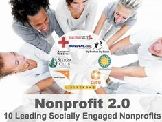 Non profits doing social well