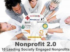 Non profits doing social well