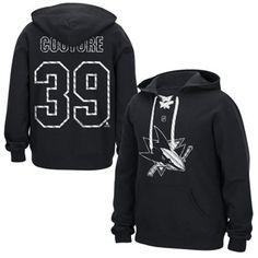 Mens San Jose Sharks Logan Couture Reebok Black Lace Up Name & Number Hockey Hoodie, I LOVE hoodies!