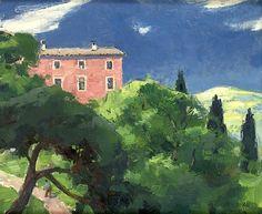 Olle Hjortzberg 1872-1959 Landscape