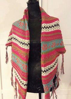 Kaufe meinen Artikel bei #Kleiderkreisel http://www.kleiderkreisel.de/accessoires/folkloreaccessoires/142308393-poncho-bunt-bohemian