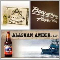 Alaskan Brewing Company joined us at the Seattle Alaska Airlines Board Room to promote Alaskan Amber and ArXotica products on June 5, 2014