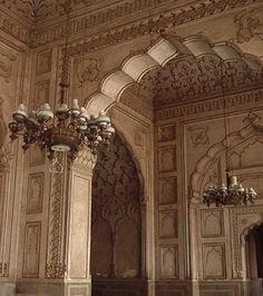 Badshahi Mosque in Lahore ,Pakistan