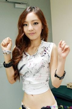 Hara has an amazing figure