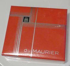 Vintage unopened 20 Du MAURIER cigarette packet - Red Sealed Packets NAAFI | eBay