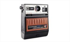 My mom had this camera when I was a kid!  It always seemed way cooler than the Polaroids we had later, too bad they were forced to stop making film for it. :(