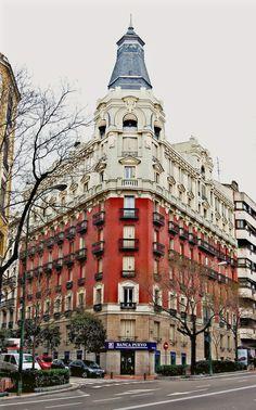 Calle de Luchana. Madrid