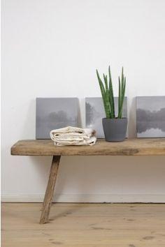 alte Holzbank rustikal http://boheme-living.com/furniture/banke.html