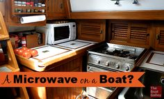 Microwave on a Boat