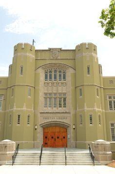 Preston Library at Virginia Military Institute, Lexington, VA