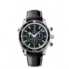 2910.50.81 : Omega Seamaster Planet Ocean 600M Co-Axial Chrono Black / Rubber