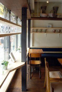 flower + café Rakaposhi | KIZ ARCHITECTS