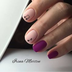 HYGGE NAILS are a trend and a must-try for the cold season. We selected ideas how to bring more HYGGiness into your nail designs. Stylish Nails, Trendy Nails, Love Nails, Fun Nails, Nail Manicure, Nail Polish, Nail Art Designs, Music Nails, Music Nail Art