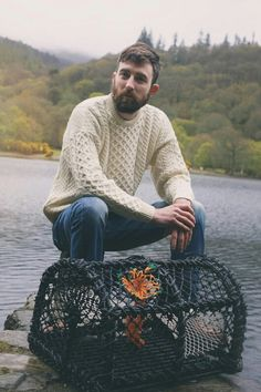 The Donegal Shop Dublin selling traditional Aran Sweaters and Knitted products Made in Ireland. Aran Sweaters, Cardigan Outfits, Donegal, Merino Wool, Knitwear, Men Sweater, Street Style, Mens Fashion, Boys