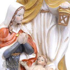 Porseleinen Jozef Maria en Jezus |