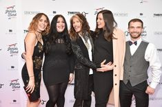 Steven Tyler and Taj Tallarico Photos Photos: 'Steven Tyler.Out on a Limb' Show to Benefit Janie's Fund in Collaboration with Youth Villages - Red Carpet Chelsea Tyler, Mia Tyler, David Geffen, Steven Tyler Aerosmith, Just Friends, Photo L, Celebrity Couples, Her Style